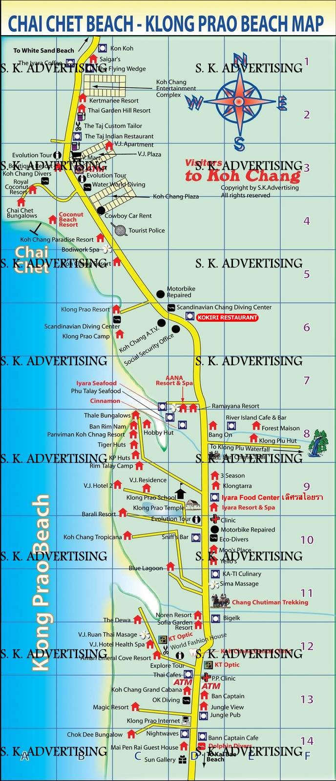 Chai Chet & Klong Prao Beach