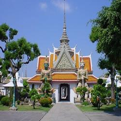 the Temple of Dawn or Wat Arun