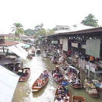 Flaoting Market, Ratchaburi
