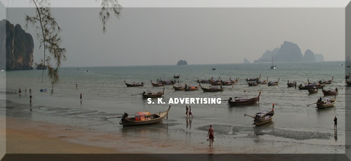 Long Tailed-Boats Service, Ao nang Seafront Krabi