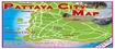 Visitors to Thailand Map: Pattaya City Map