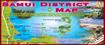Visitors to Thailand Map: Samui District Map