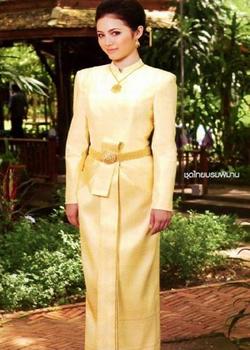 Thai Borom Bhiman Dress