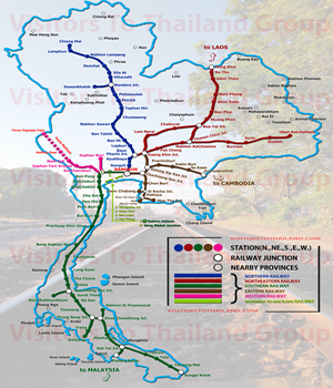 Satate Railway Station Map